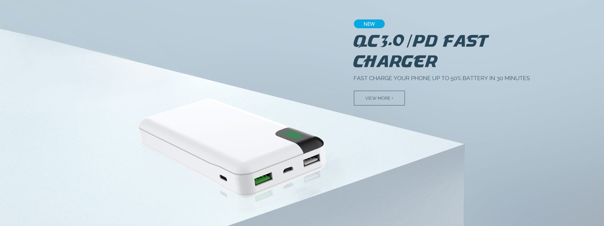 QC3.0/PD fast charger SP-F60
